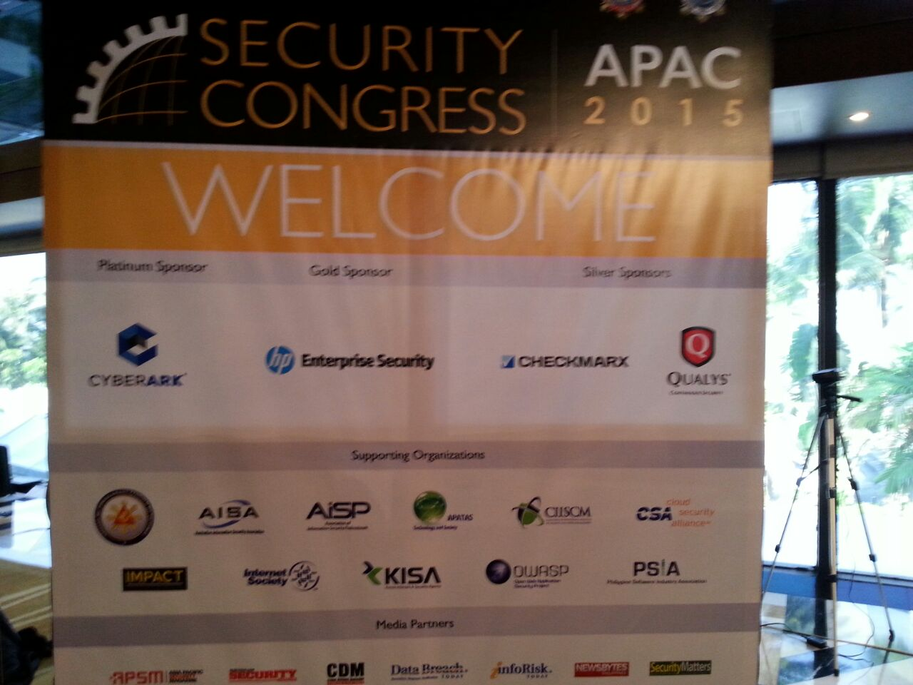 APAC 2015 Security Congress opens today!