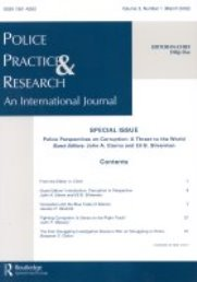 "Special issue at ""Police Practice & Research: An International Journal"""